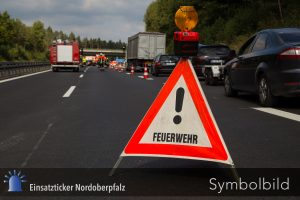 Verkehrsunfall A 93 AS Wiesau